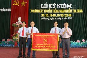 Đô Lương kỷ niệm 70 năm ngày truyền thống ngành Kiểm tra Đảng