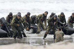 Nhật Bản - Mỹ phối hợp tập trận đổ bộ giành lại đảo