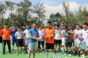 Giao lưu bóng đá giữa cộng đồng người Việt tại Hong Kong và Macau