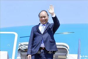 Thủ tướng Nguyễn Xuân Phúc lên đường tham dự Hội nghị cấp cao Á - Âu