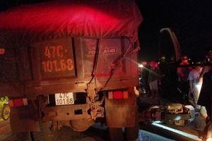 Nữ chiến sĩ công an tử nạn dưới bánh xe ben