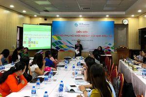 Tìm kiếm thị trường, kết nối phụ nữ khởi nghiệp và nhà đầu tư