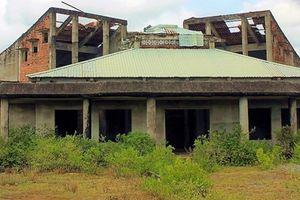 Nhà hỏa táng xây dựng dở dang, bỏ hoang 13 năm