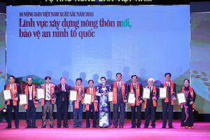 Tôn vinh 63 'Nông dân Việt Nam xuất sắc 2018'