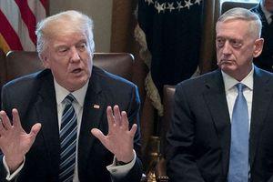 Tổng thống Trump nghi ngờ Bộ trưởng Mattis sắp từ chức