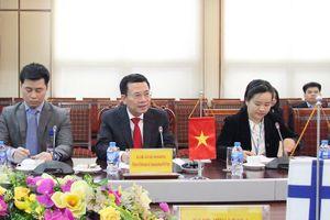 Bộ TT&TT: 'Phần Lan và Việt Nam có thể hợp tác để phát triển các sản phẩm công nghệ tại Việt Nam'
