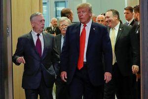 Ông Trump 'bóng gió' về tương lai Bộ trưởng Quốc phòng Mattis