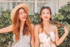 Cặp chị em hot girl xinh đẹp, nổi tiếng trong giới trẻ Singapore