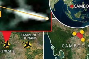 Sốc: MH370 rơi giữa 'mồ chôn máy bay' trong rừng Campuchia