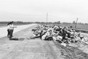 Hạn chế trong xử lý rác thải sinh hoạt ở Hà Tĩnh