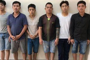 Khởi tố 6 thanh niên trong vụ huyết chiến ở cầu Nhị Thiên Đường