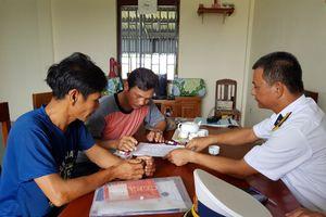 43 ngư dân bị nạn ở khu vực biển Trường Sa được đưa vào bờ