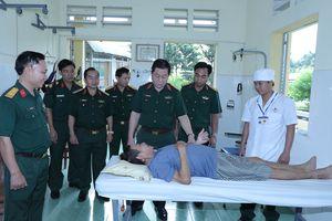 Đoàn công tác Tổng cục Chính trị kiểm tra hoạt động CTĐ, CTCT tại Quân đoàn 4