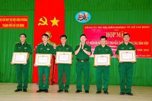 Bộ đội Biên phòng TP Hồ Chí Minh tuyên dương điển hình dân vận khéo