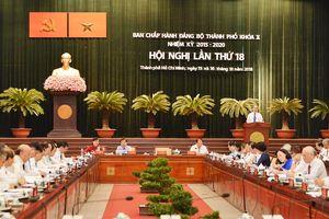 Hội nghị Thành ủy lần thứ 18: Bàn giải pháp xây dựng cán bộ uy tín
