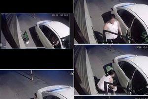 Cây phong thủy trước nhà bị tài xế ôtô nửa đêm lấy mất