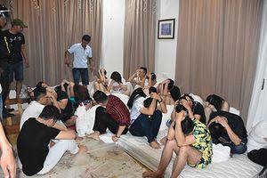 'Dân chơi' thuê biệt thự để tổ chức tiệc sinh nhật bằng ma túy