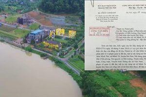 Chủ tịch UBND TP. Hà Nội chỉ đạo thanh tra toàn diện đất đai, trật tự xây dựng tại hai xã Minh Trí và Minh Phú