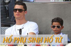 Con trai Ronaldo ghi cú đúp gây sốt cộng đồng mạng