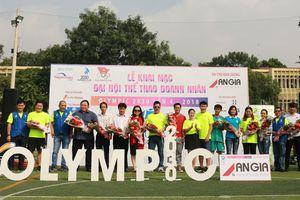3.000 vận động viên dự Đại hội thể thao doanh nhân