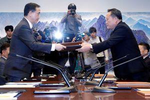 Hàn, Triều nhất trí khởi công dự án kết nối đường sắt song phương