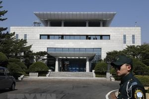 Hàn Quốc-Triều Tiên đàm phán cấp cao tại làng đình chiến Panmunjom