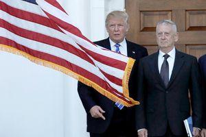 Tổng thống Trump mập mờ về khả năng Bộ trưởng Quốc phòng Mỹ từ chức