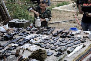 Quân đội Syria chiếm kho vũ khí bí mật của phiến quân Al-Qaeda gần Damascus