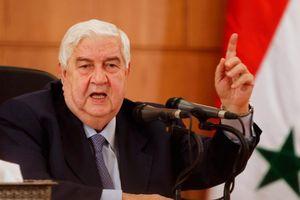 Ngoại trưởng Syria tuyên bố có thể sử dụng vũ lực tại Idlib