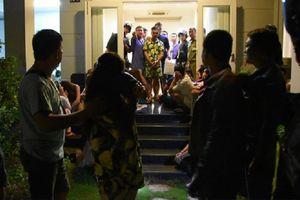 Bắt tại trận cô gái mang bầu cùng 28 đối tượng thuê biệt thự tổ chức sinh nhật bằng đại tiệc… ma túy
