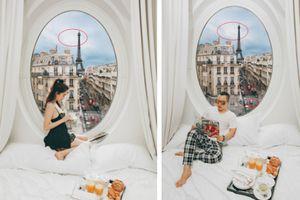 Chả cần phải đi Paris, chỉ cần 30 USD là bạn sẽ có ngay bộ ảnh 'sống ảo' như Ngọc Trinh