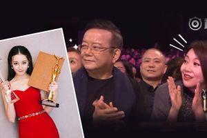 Phát sốt với biểu cảm hoang mang cực độ của hai nghệ sỹ gạo cội khi nghe Địch Lệ Nhiệt Ba được xướng tên nhận giải