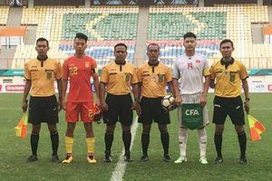U19 Việt Nam đánh bại Trung Quốc, ghi bàn phút thứ 64