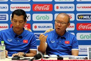 Park Hang Seo: Mục tiêu của Việt Nam là phải đứng đầu bảng A