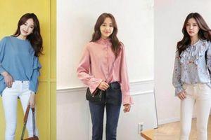 Những kiểu áo blouse tuyệt đẹp giúp nàng 'nổi bần bật' chốn công sở