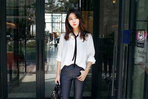 Cách phối đồ cực đẹp với áo sơ mi trắng cho nàng xuống phố