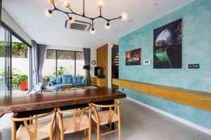 Thiết kế căn nhà thoáng đãng nhìn ra sông Sài Gòn, có bể bơi tầng trệt