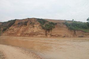 Thanh Chương (Nghệ An): Sông 'nuốt' đất nông nghiệp