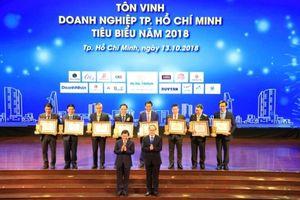 Hòa Bình lọt top 10 Doanh nghiệp TP. HCM tiêu biểu 2018