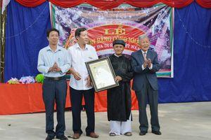 Vĩnh Phúc: Vinh danh Cây di sản Việt Nam tại huyện Tam Dương