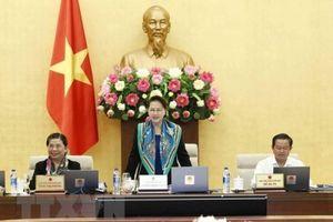 Ngày đầu tiên Phiên họp thứ 28 của Ủy ban Thường vụ Quốc hội
