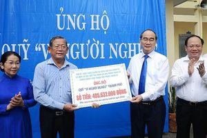 Chung tay ủng hộ Quỹ 'Vì người nghèo'