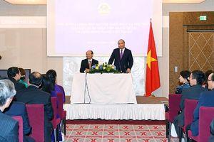 Thủ tướng gặp gỡ cộng đồng người Việt Nam ở Áo và một số nước châu Âu