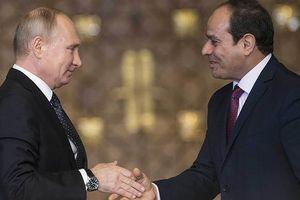 Tổng thống Ai Cập bắt đầu chuyến thăm chính thức Nga