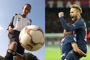 Bộ ảnh cực chất về tuổi thơ và hiện tại của những siêu sao bóng đá