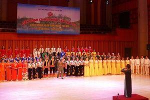 Sôi động liên hoan ca múa nhạc của Hiệp hội UNESCO TP Hà Nội