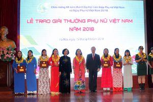 Vinh danh 15 tập thể và cá nhân phụ nữ Việt Nam
