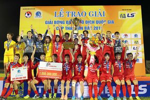 Phong Phú Hà Nam đăng quang Giải Bóng đá nữ vô địch quốc gia năm 2018