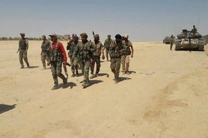 Bị phản công, quân đội Syria 'dội bão lửa' lên IS trong 'chảo lửa' Al-Safa