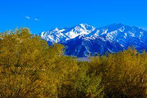 Sắc màu ma mị của mùa thu dưới chân dãy Himalaya